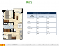 bloom-residences-smdc-condo-for-sale-2-bedroom-end-unit