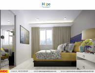 hope-residences-condo-for-sale-in-sm-city-,trece-martires-city-dressed-up-bedroom3