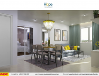 hope-residences-condo-for-sale-in-sm-city-,trece-martires-city-dressed-up-dining-room