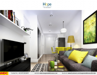 hope-residences-condo-for-sale-in-sm-city-,trece-martires-city-dressed-up-living-room