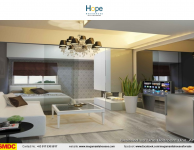 hope-residences-condo-for-sale-in-sm-city-,trece-martires-city-dressed-up-living-room2