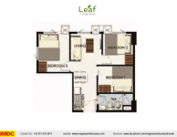 leaf-residences-condo-homes-sale-susana-heights-muntinlupa-3-bedroom-floor-plan