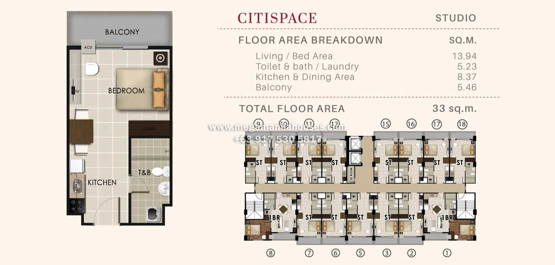 valenza-mansions-citispace-studio-unit-by-crownasia-condo-homes-for-sale-in-laguna-philippines-floor-plan
