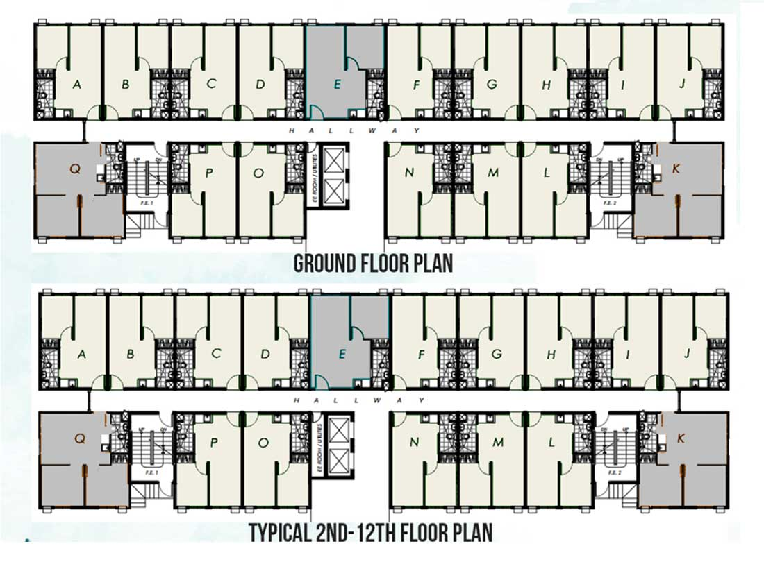 The Aviana COHO - Condo Homes for Sale in Imus Cavite Floor Plan