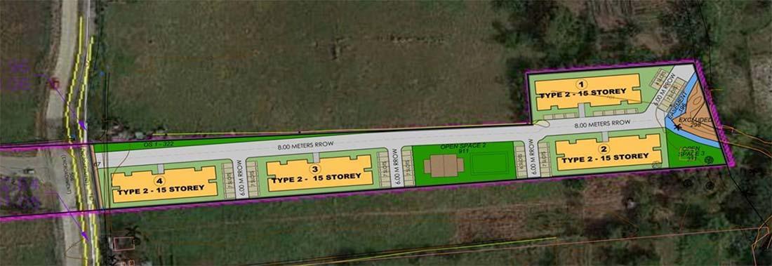 Site Development Plan of The Aviana COHO