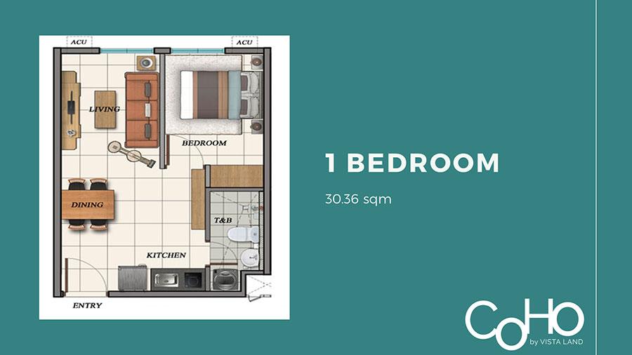The Meridian of Condo Homes Bacoor Floor Plan– Condominium for Sale In Bacoor City, Cavite